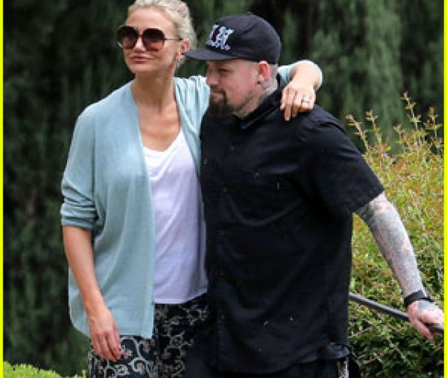 Cameron Diaz Benji Madden Spotted On Romantic Trip To Italy