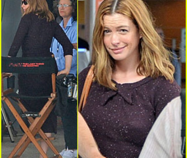 Anne Hathaway Films The Last Thing He Wanted In San Juan Anne
