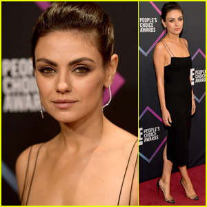 Mila Kunis Looks Chic on the Red Carpet at People's Choice Awards 2018!
