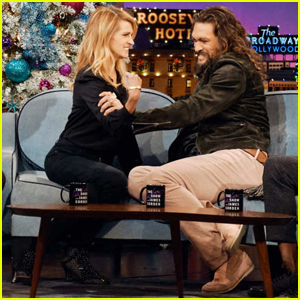 Jason Momoa 'Geeked Out' Over Meeting Julia Roberts on 'Late Late Show'!