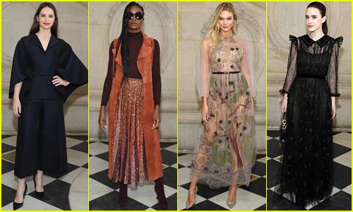 Christian Dior's Paris Fashion Show Is a Star-Studded Affair!