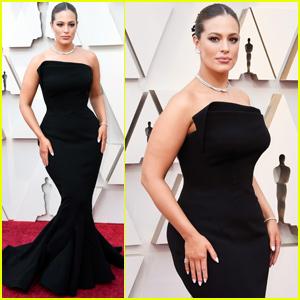 Ashley Graham Gets Glam For Oscars 2019 Red Carpet!
