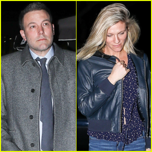 Ben Affleck Grabs Dinner with Ex Girlfriend Lindsay Shookus