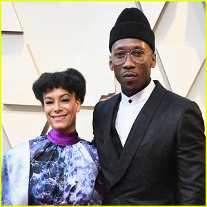 Mahershala Ali is Support by Wife Amatus Sami-Karim at Oscars 2019