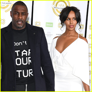 Idris Elba & Fiancee Sabrina Dhowre Couple Up for National Film Awards 2019 in London
