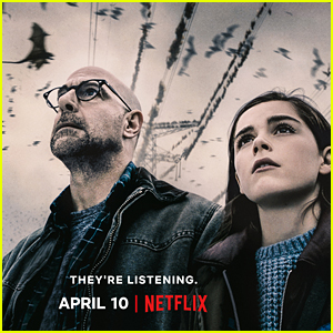 Stanley Tucci & Kiernan Shipka Star in 'The Silence' - Watch the Scary Trailer!