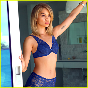 Jasmine Sanders Shows Off Her Bikini Body in Lascana Campaign - See the Pics!