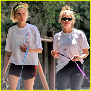 Cara Delevingne & Ashley Benson Step Out After Making Scandalous Purchase!