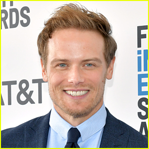 Sam Heughan Reacts to News He's Receiving an Honorary Doctorate!