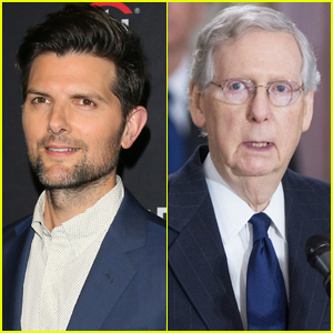 Adam Scott Slams Mitch McConnell for Using His 'Parks & Rec' Character on Twitter