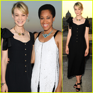 Carey Mulligan Celebrates Bvlgari - The Story, The Dream Exhibition!