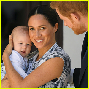 Duchess Meghan Markle & Prince Harry Share Never-Before-Seen Picture of Baby Archie