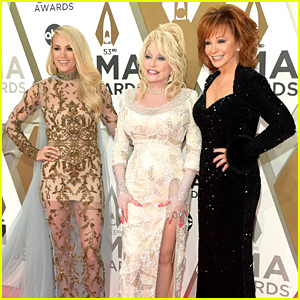 Carrie Underwood, Reba McEntire, & Dolly Parton Sparkle at CMA Awards 2019
