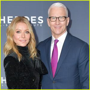 Kelly Ripa & Anderson Cooper Host CNN Heroes Awards 2019