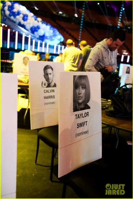 Taylor Swift and Calvin Harris will be seated next to each other at iHeartRadio Awards 2016