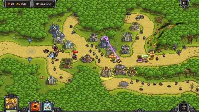Kingdom Rush Switch Level Map