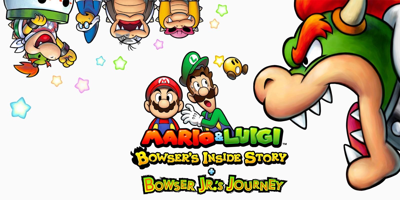 Mario Luigi Bowser S Inside Story Bowser Jr S Journey Nintendo 3ds Games Nintendo