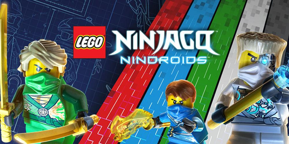 LEGO Ninjago Nindroids Nintendo 3DS Games Nintendo