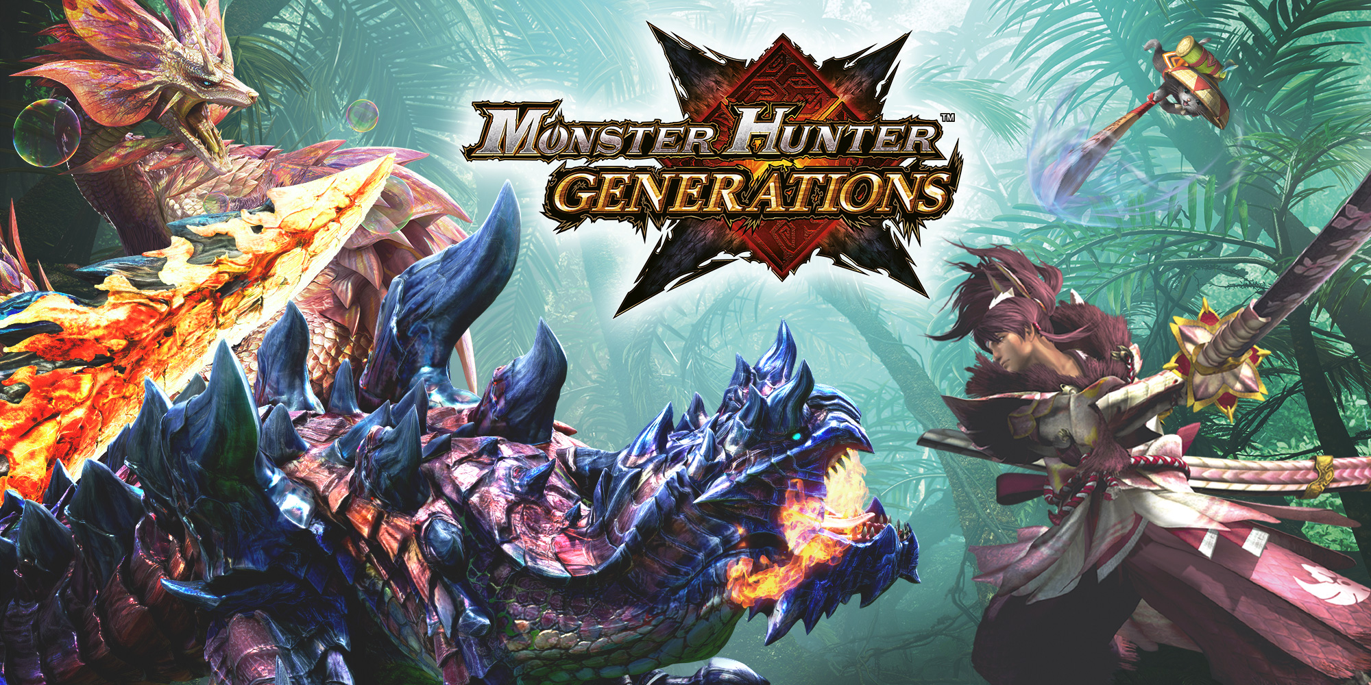 Monster Hunter       Generations   Nintendo 3DS   Games   Nintendo