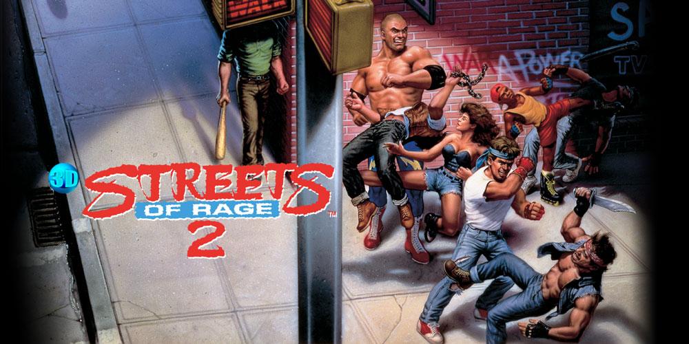 3D Streets Of Rage 2 Nintendo 3DS Download Software Games Nintendo