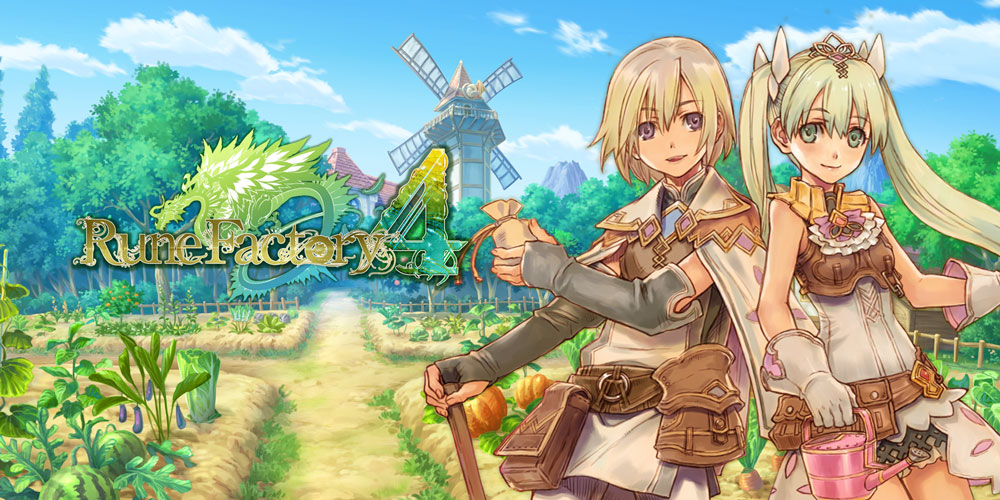 Rune Factory 4 Nintendo 3DS Download Software Spiele