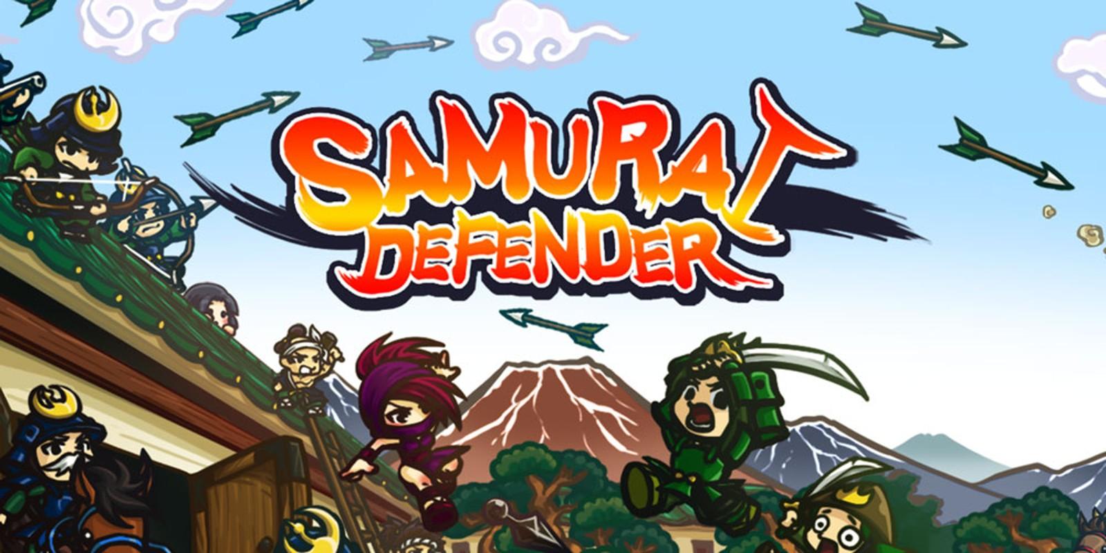 Samurai Defender Nintendo 3DS Download Software Games Nintendo