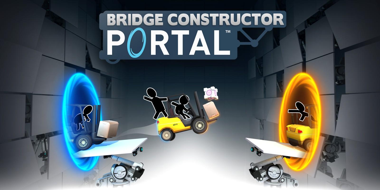 Bridge Constructor Portal Nintendo Switch Download Software Games Nintendo