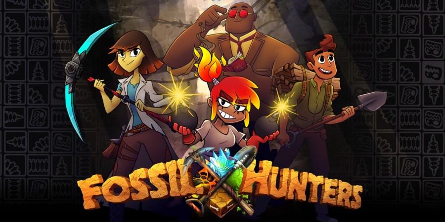 Image result for Fossil Hunters nintendo.com