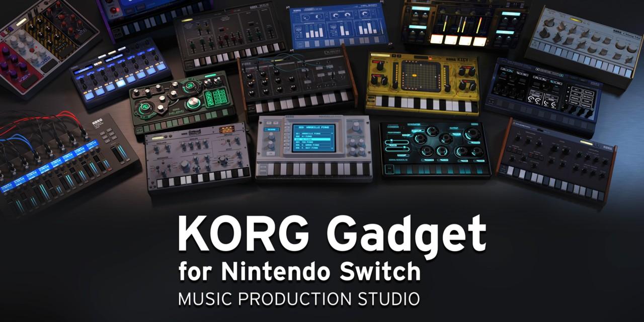 KORG Gadget For Nintendo Switch Nintendo Switch Download Software Games Nintendo