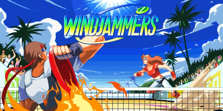 Image result for Windjammers nintendo.com