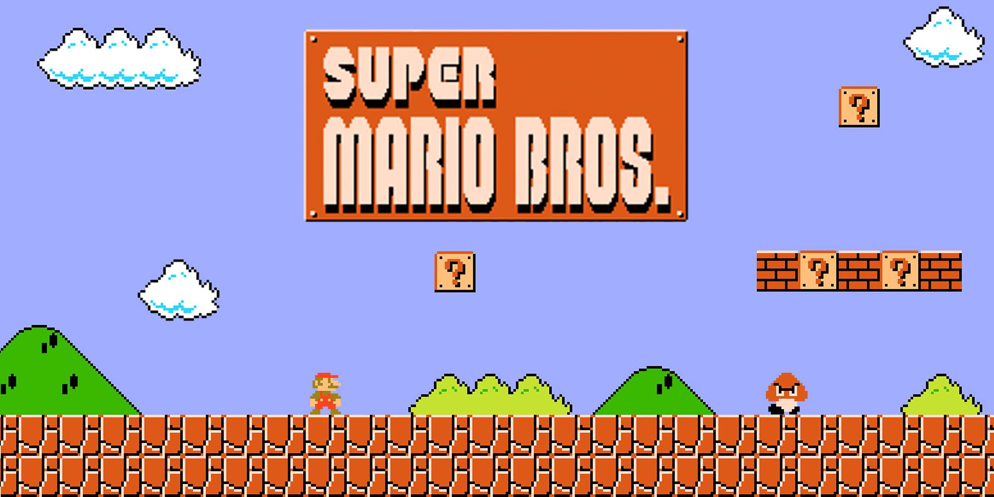 Super Mario or Super Mario Bros Video Game
