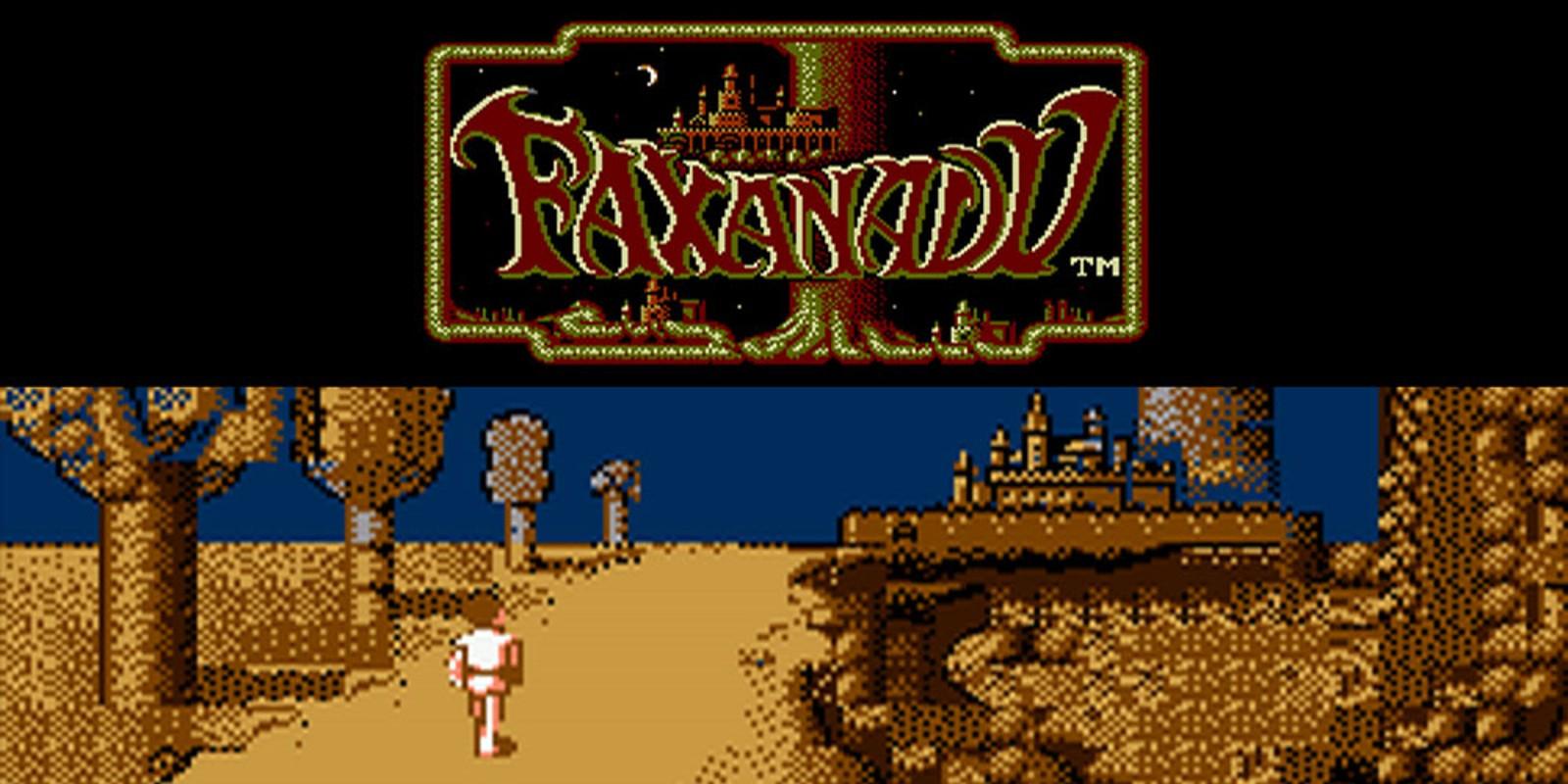 Faxanadu Virtual Console Wii Games Nintendo