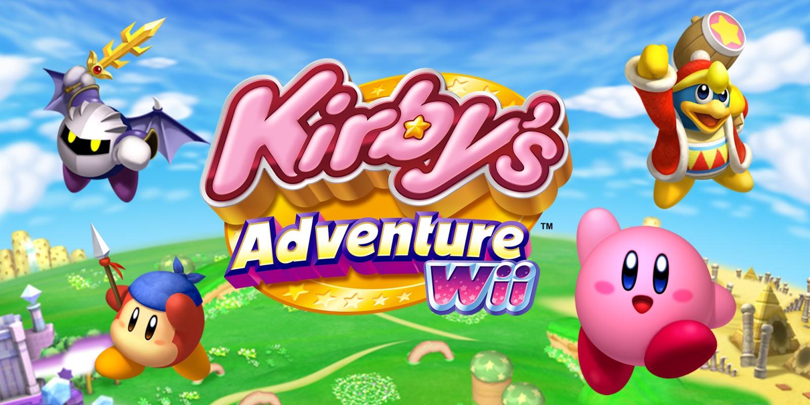 Kirby S Adventure Wii Wii Games Nintendo