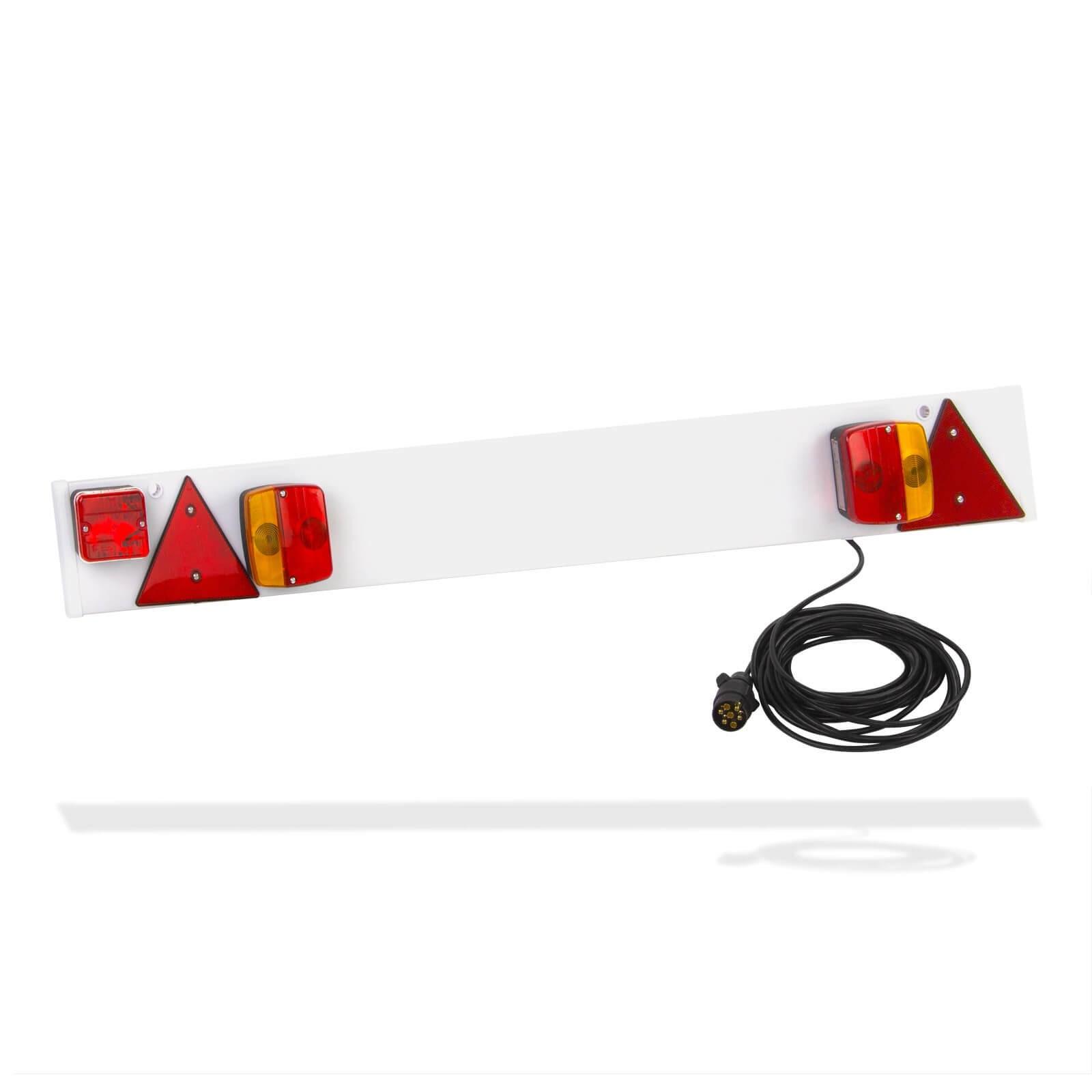 Anhangerbeleuchtung 122cm 7 Pol 12v Ruckleuchten Rucklicht Lichtleiste Anhanger Stabilo Fachmarkt Fur Werkzeug Landwirtschaft Garten