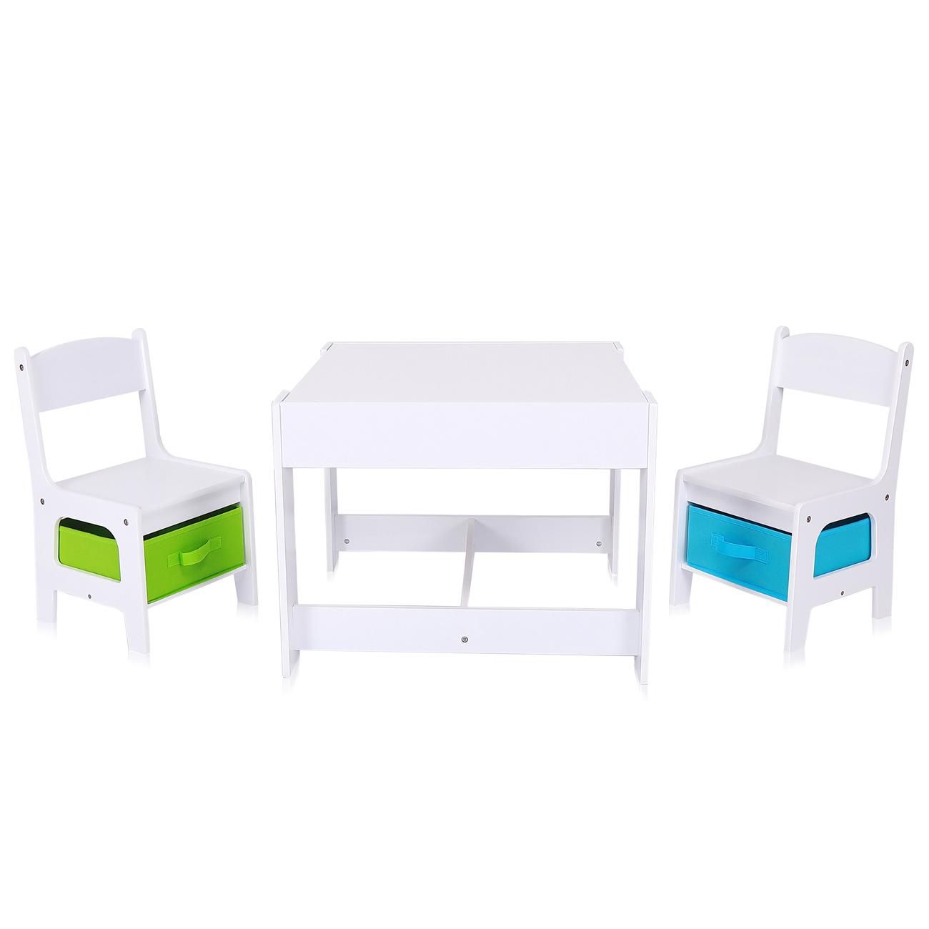 baby vivo set table d activites pour enfants avec 2 chaises en bois max