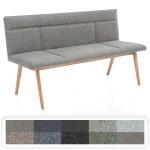 Elegante Polsterbank Aranel Mit Lehne Sitzbank 160cm 180cm Massivholz Varianten Ebay