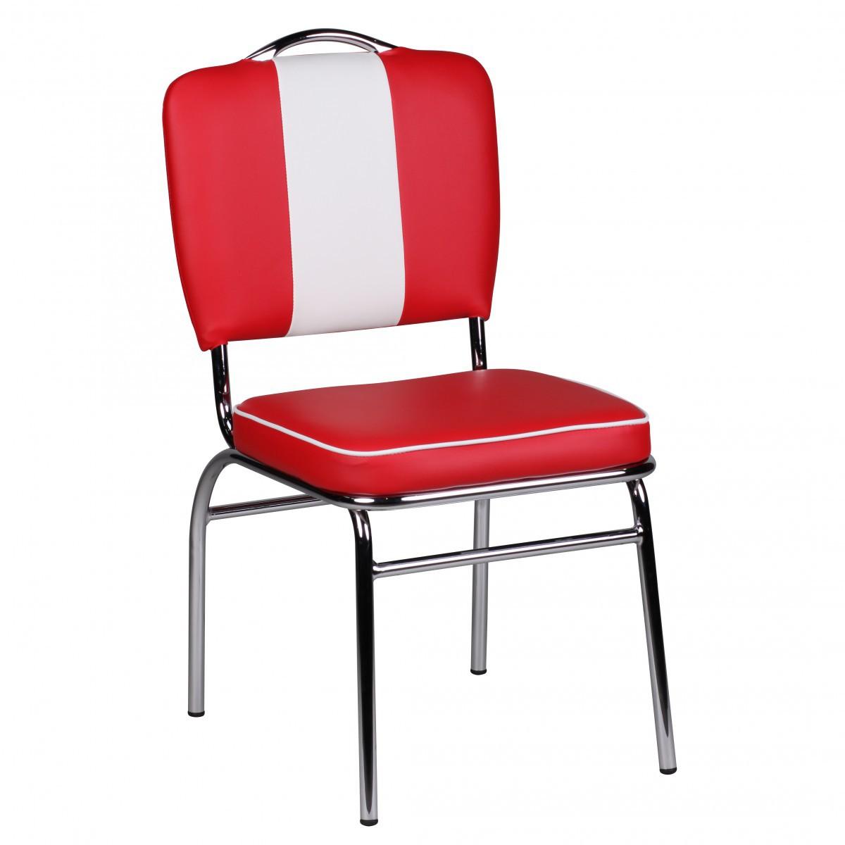 Esszimmerstuhl American Diner Stuhl 50er Jahre Retro Möbel Stuhl
