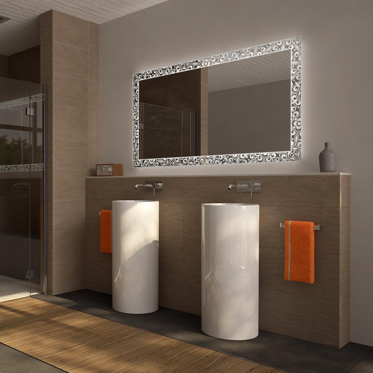 Spiegel Mit Led Beleuchtung Euralia Badspiegel Kaufen Badspiegel Shop Badspiegel Nach Mass