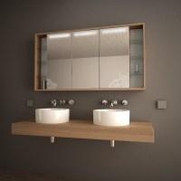 Bad Spiegelschrank mit Licht Arida 989705252