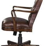Casa Padrino Luxury Genuine Leather Office Chair Swivel Chair Brown 63 X 68 X H 102 Cm Luxury Office Furniture