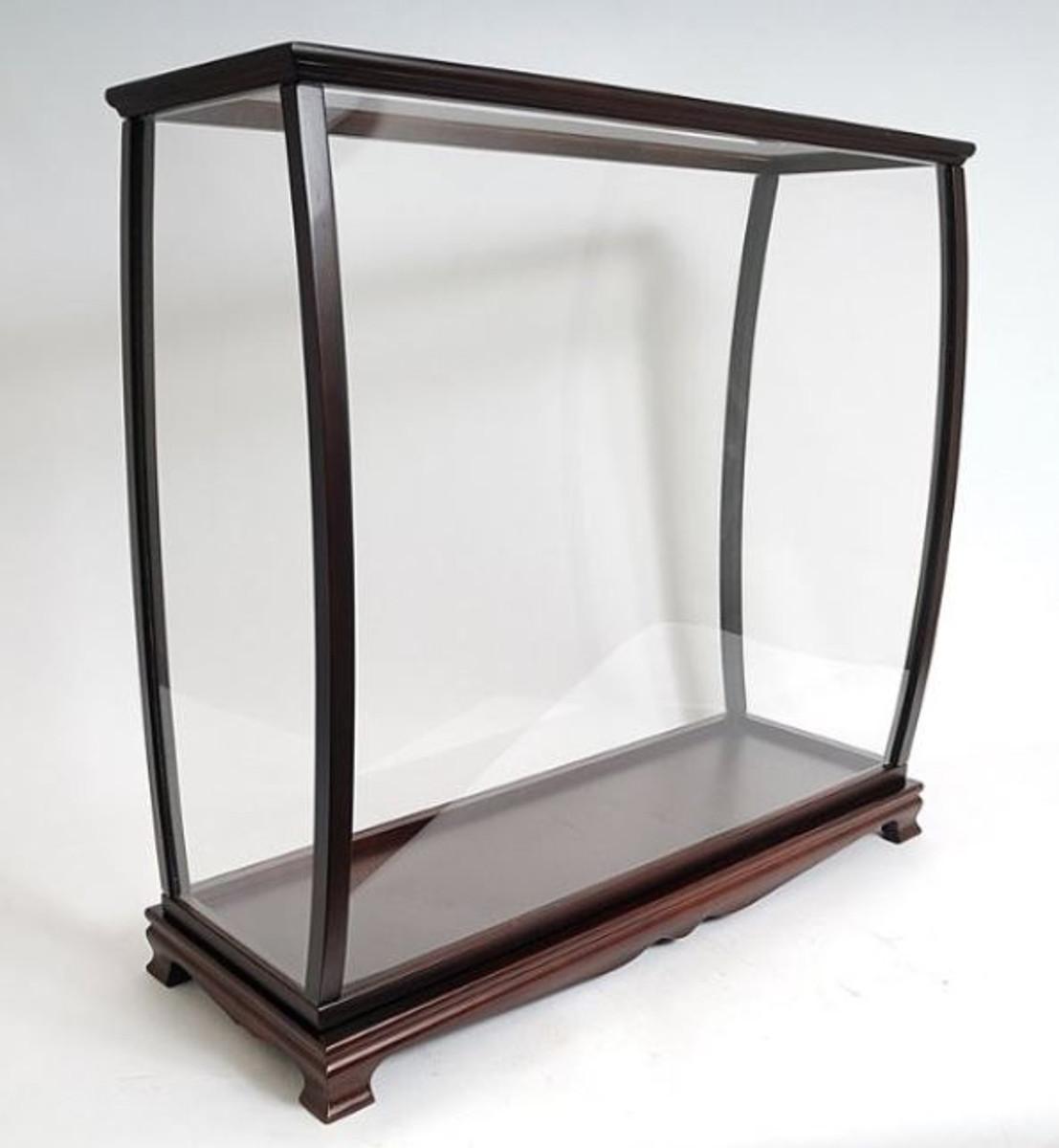 vitrine de luxe casa padrino pour maquettes de bateaux verre bois 34 9 x 101 6 x h 99 7 cm vitrine de bateau pour maquette de bateau
