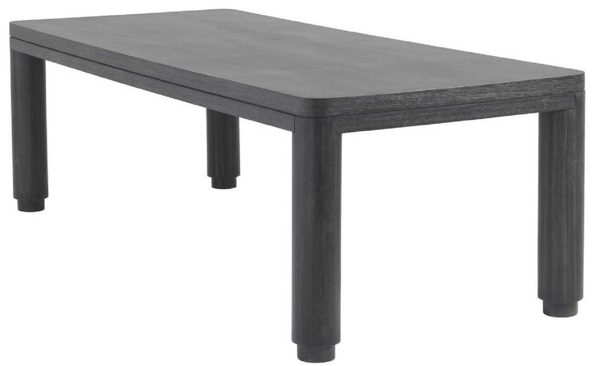 casa padrino luxury dining table anthracite gray 240 x 100 x h 76 cm solid wood kitchen table rectangular dining room table luxury dining room