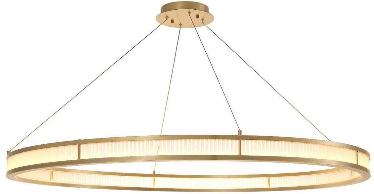 casa padrino lustre led de luxe laiton antique blanc o 139 cm lustre rond moderne lustre de salon lustre d hotel