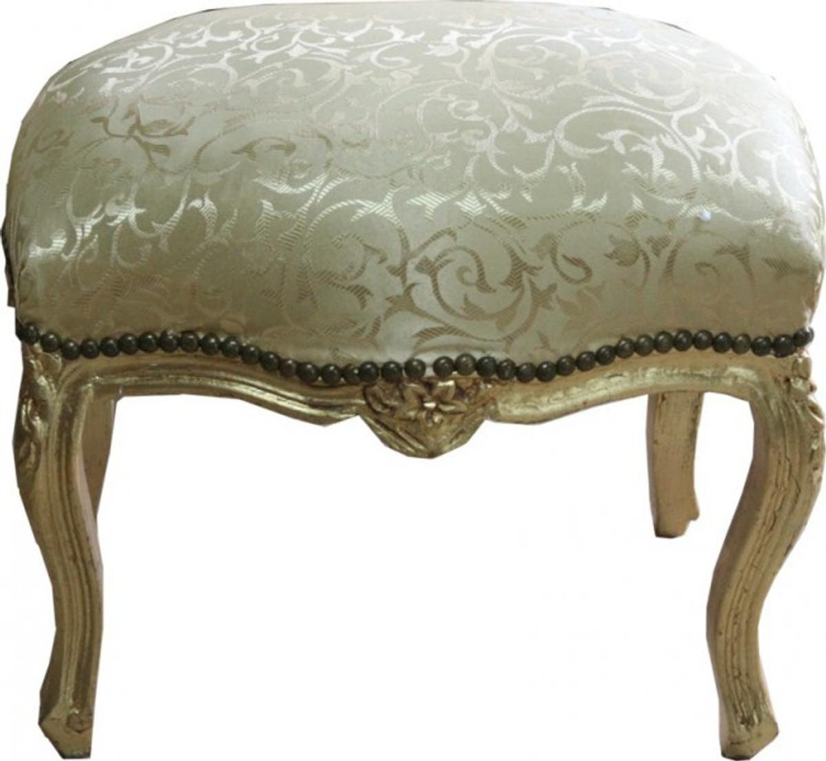 casa padrino ottoman gold baroque pattern gold medium