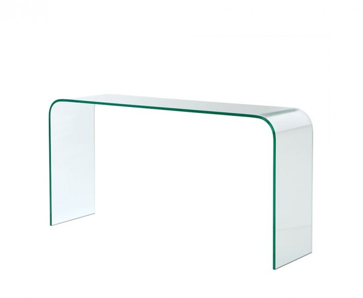 casa padrino luxury art deco glass console table 150 x 40 x h 76 cm luxury collection