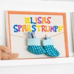 Susse Geschenke Zur Geburt Basteln Mit Photolini Photolini Bilderrahmen Fotowande Poster Und Geschenke