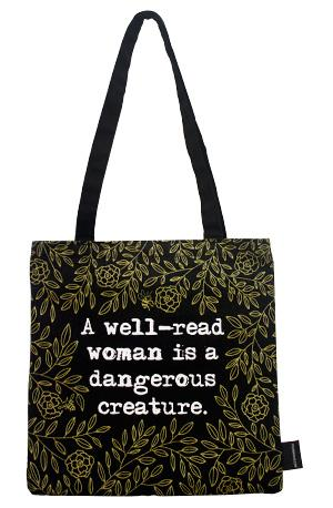 Tote Bag: Well Read Woman Tote Bags & Pouches