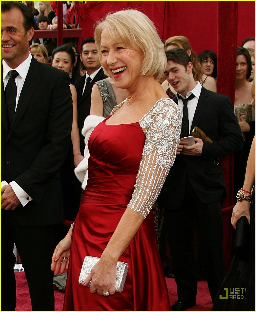 Full Sized Photo Of Helen Mirren Oscars   Just Jared