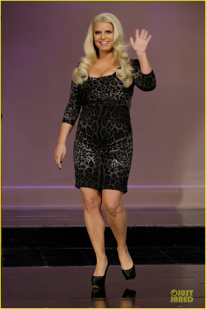 jessica simpson tonight show with jay leno appearance 01