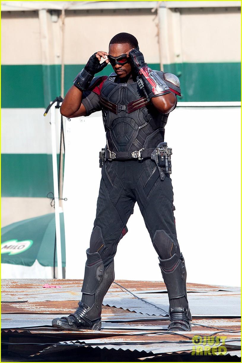 Captain America: Civil War Set Photos & Videos 66